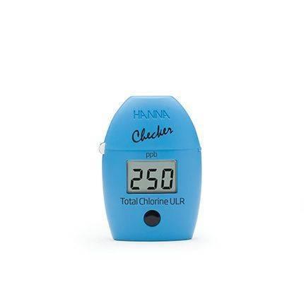 手提式(低範圍)餘氯偵測器 HI761