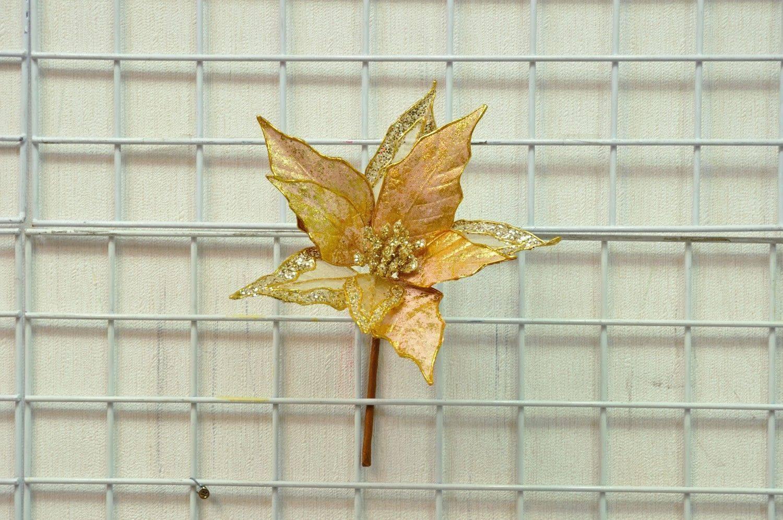 淺銅色聖誕花(中)