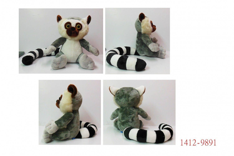 1412-9891-9吋法蘭絨狐猴