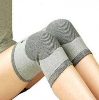 easy 護膝 竹碳纖維護膝 竹炭保暖護膝 運動護膝 彈力護膝 針織保暖護膝-1雙