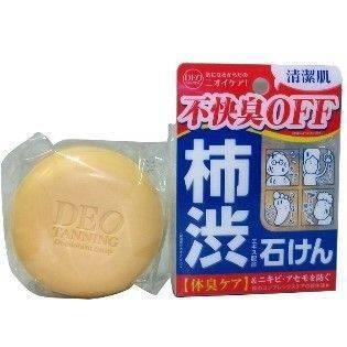 日本杮渋除臭去油清潔皂 100