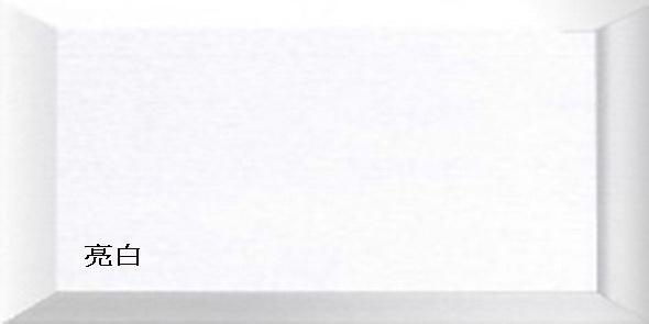 彩色。壁磚【地鐵磚白/亮面+HP-XC2081】10x20+20x20浴室 廚房│梯廳│客廳│咖啡廳│商辦│民宿│店面設計 牆面#