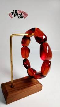 緬甸琥珀手串