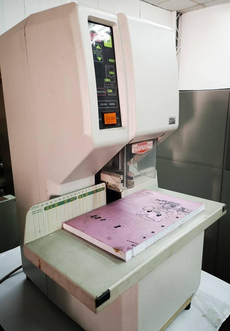 日本製單孔電動打孔機