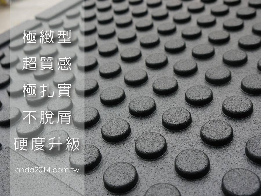 【健身房專用】極緻微分子橡膠地墊