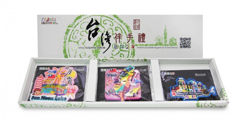 A003南台灣旅遊磁鐵禮盒(3入)