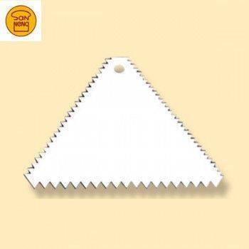 【三能】塑膠三角齒刮板