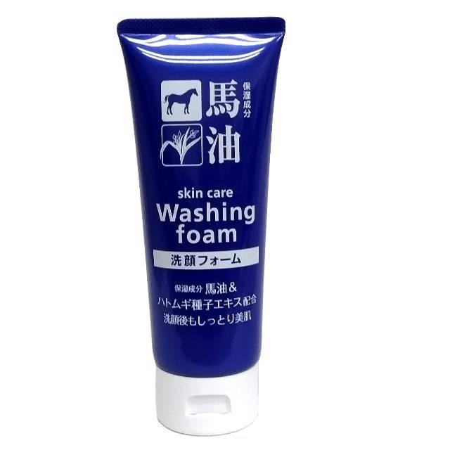 日本熊野 HH 馬油薏仁嫩白洗面乳  130 g