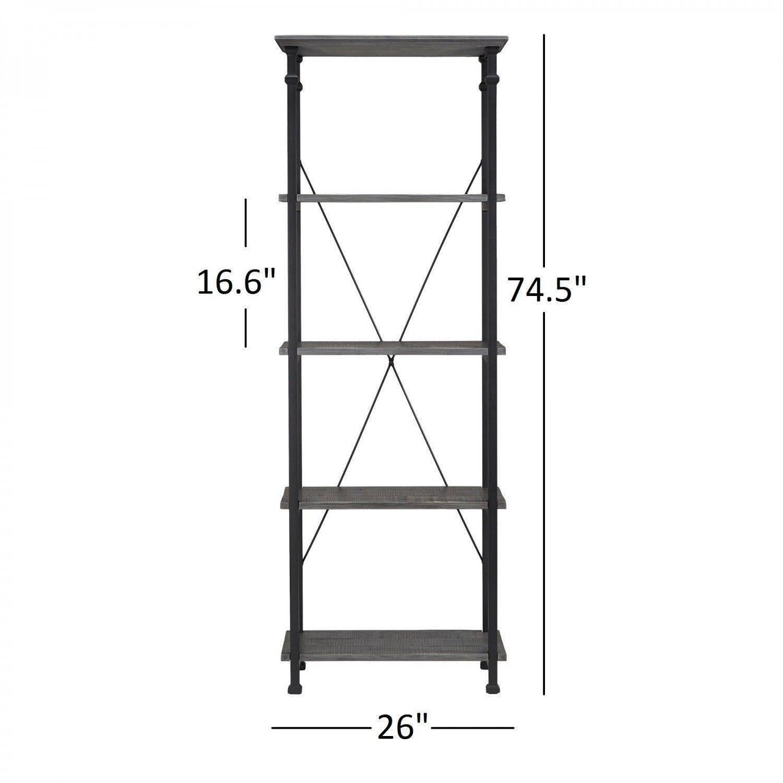 Loft工業風-小置物(書)櫃-蜂蜜色