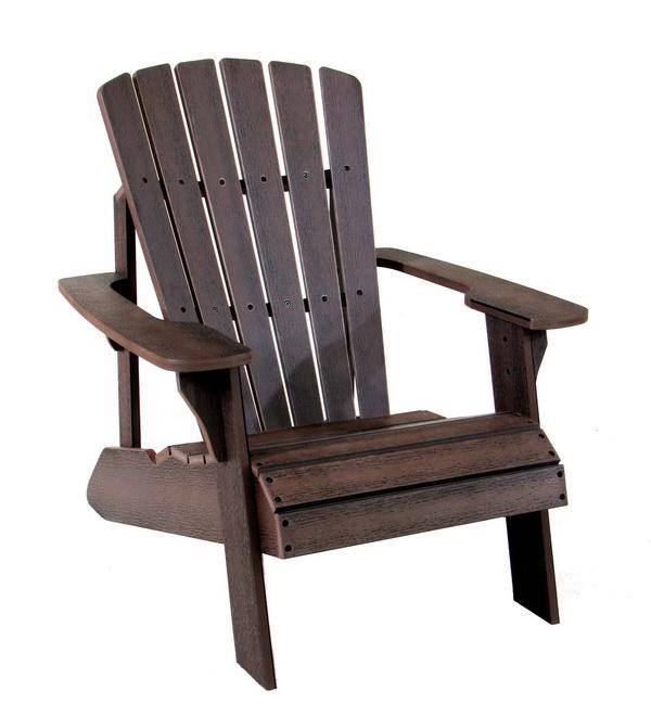 塑木休閒躺椅