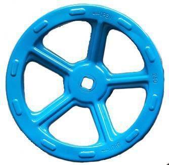 W701鋼板沖壓手輪