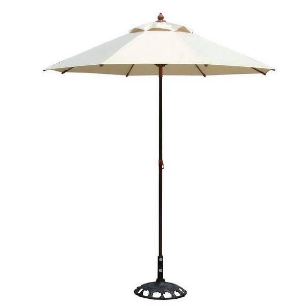 手開式7尺簡易玻纖休閒傘