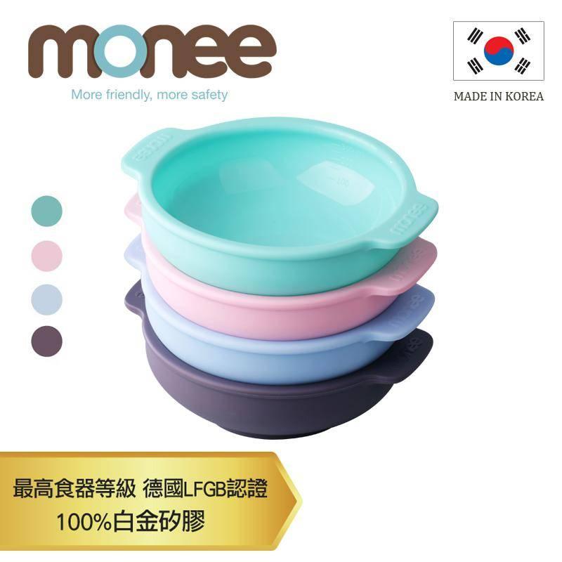 【韓國monee】100%白金矽膠幼童智慧矽膠碗/4色