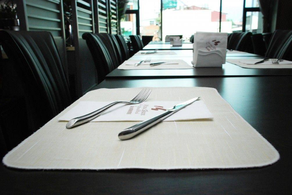 餐墊-素面條紋