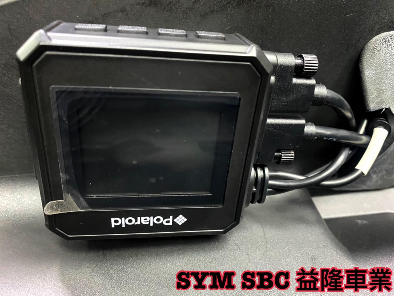 MAXSYM 400巡弋勁旅 安裝 前後雙鏡頭行車紀錄器 拍立得 Polaroid MS295WG *SYM SBC 益隆車業*