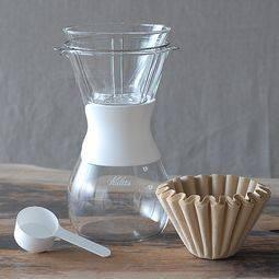 【推薦新手】《Kalita》185 Wave Glass Dripper玻璃波浪濾杯/濾壺組 (2-5人用)