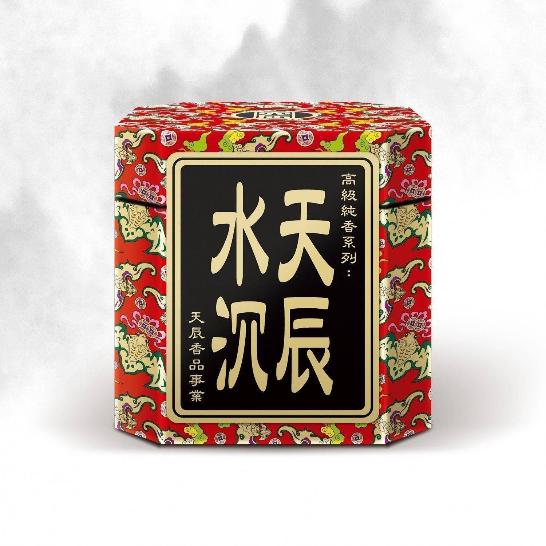 天辰水沉 / 微煙 3.5H 小盤香