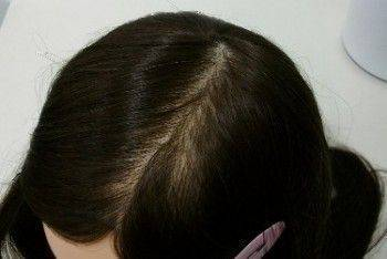 日本KANNA 新人練習用假人頭-真髮50%