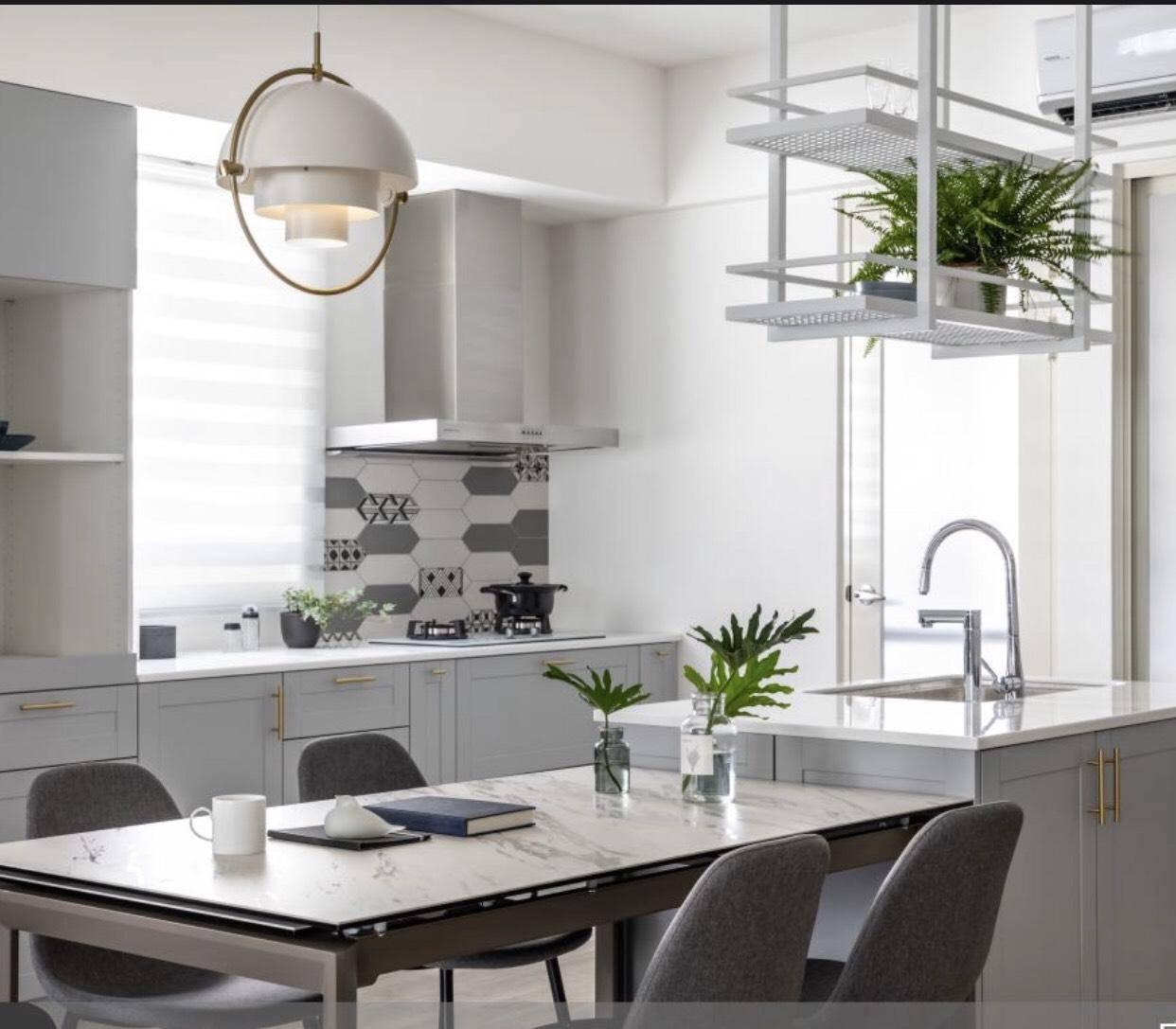 彩色.異型磚【HP風箏系列EQ103001】,廚房,玄關,商空設計