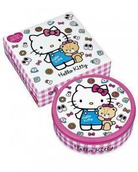 Kitty 凱蒂貓餅乾禮盒(可可口味)