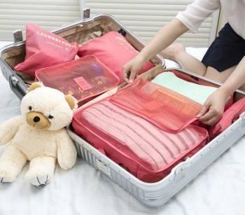 【E-gift】六件式旅行收納組(8色)