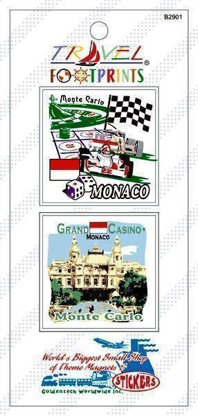 B2901 蒙地卡羅旅遊貼紙