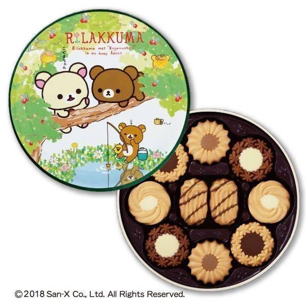 北日本 拉拉熊餅乾禮盒-綜合