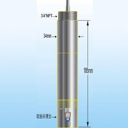線上型用PH玻璃電極HC-500-5K