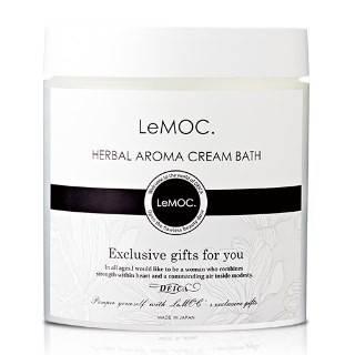 日本LeMOC.精油香氛蒸氣浴髮膜 240 g