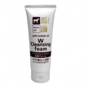 日本HO馬油卸粧洗臉洗面乳