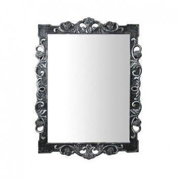 恒潔 MB-9902 方形花紋浮雕鏡