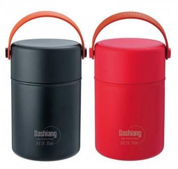 【E-gift】316不鏽鋼真空保溫燜燒罐 800ml(#316.大口徑.保溫.有提把)