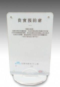 磁扣型壓克力桌立牌