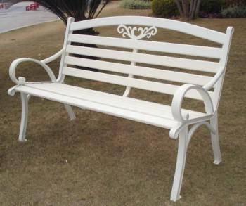 鋁製雙人公園椅