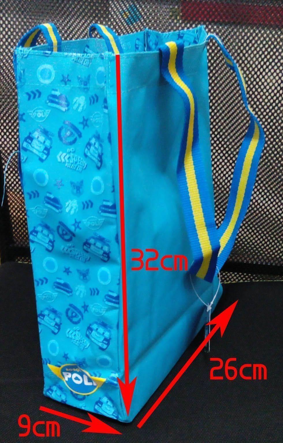 波力尼龍布大手提袋-32*26*9cm (38505024)