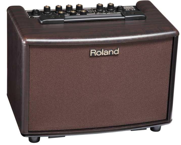 ROLAND AC-33RW電池供電的木吉他音箱