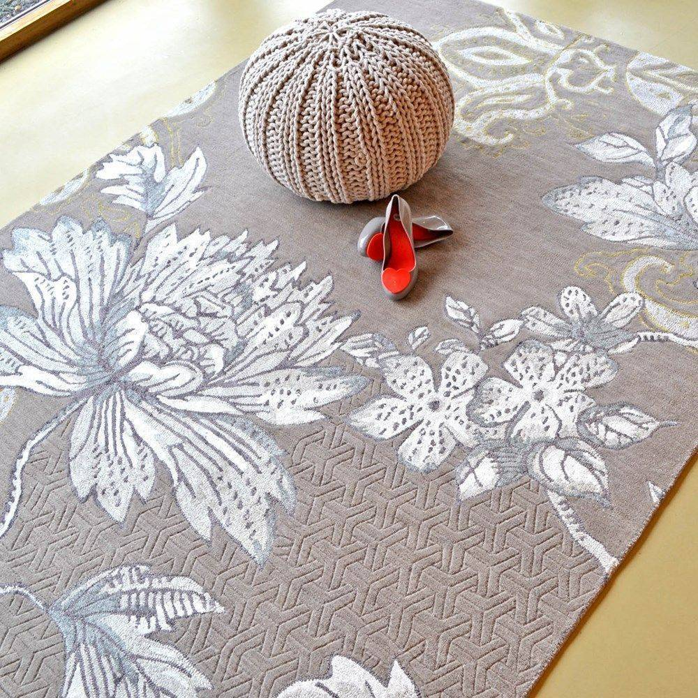 FABLED FLORA(灰) RUGS
