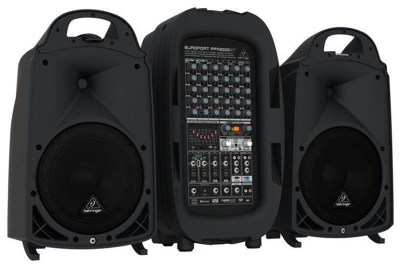 耳朵牌behringer PPA2000BT行動音響喇叭+混音器