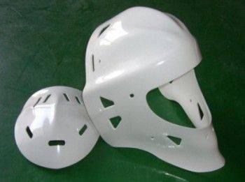厚板真空成型-曲棍球安全帽附蓋