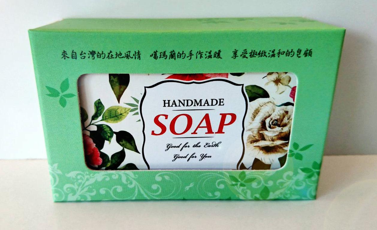 桑妮手工 - 保加利亞玫瑰花皂