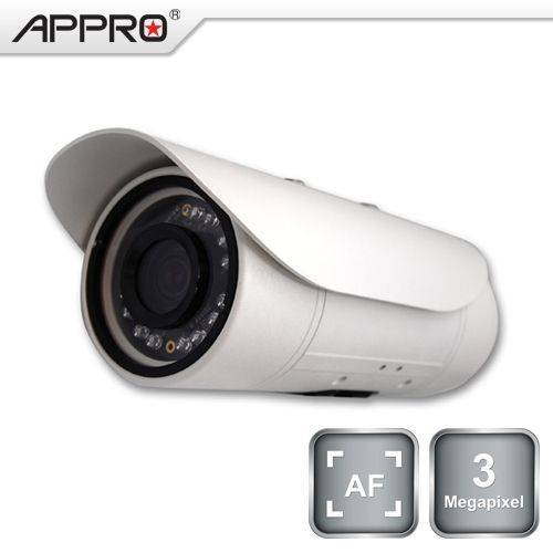 LC-7556-AF3,   3.0 Megapixel IP Bullet Camera (AF Le1)
