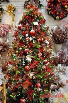 紅白成品樹