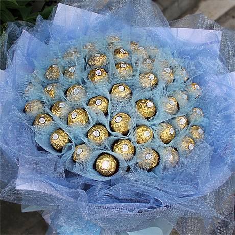 【限時特價】《吾愛滿溢》50朵金莎花束