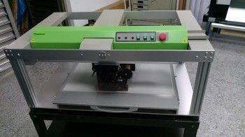 感謝台灣芮華公司惠購數位燙金機全自動PF-2060型