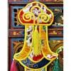 西藏【藏式佛堂吉祥幡  裝飾小佛幡 掛幡】
