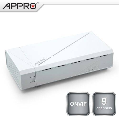 NVR-6031,   9-channel Network Video Recorder, Compact Size, Onvif