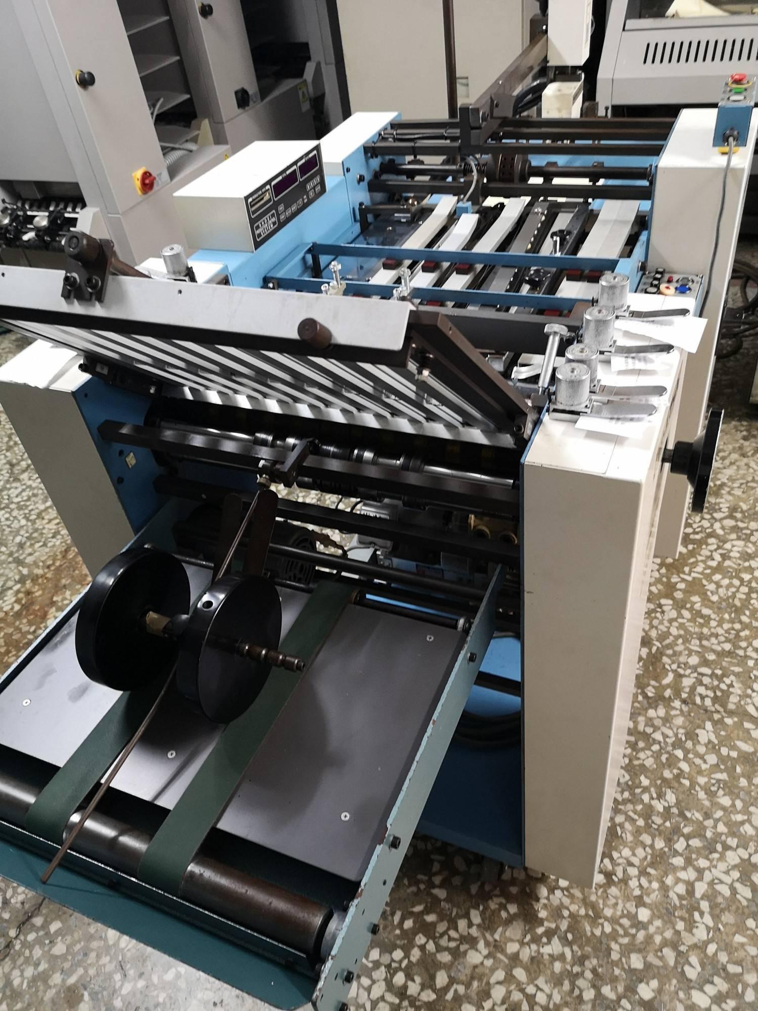 日本5開吸風式高速折紙機