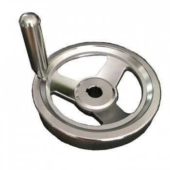 W605 帶手柄不鏽鋼防滑手輪