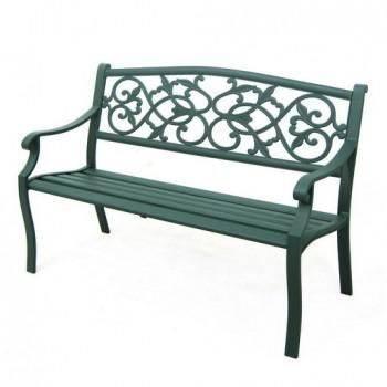 鋁製圖騰公園椅