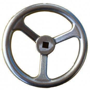 W602 不鏽鋼手輪(方孔)